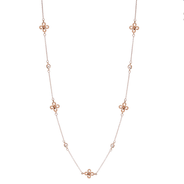 Pia Rose Gold Necklace