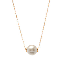 Bella Pearl Gold Necklace