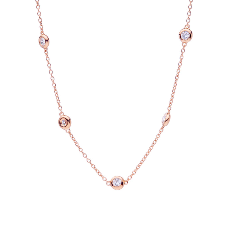 Eloise Rose Gold Necklace