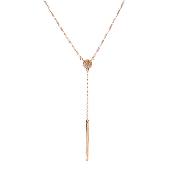 Molly Rose Gold Drop Necklace