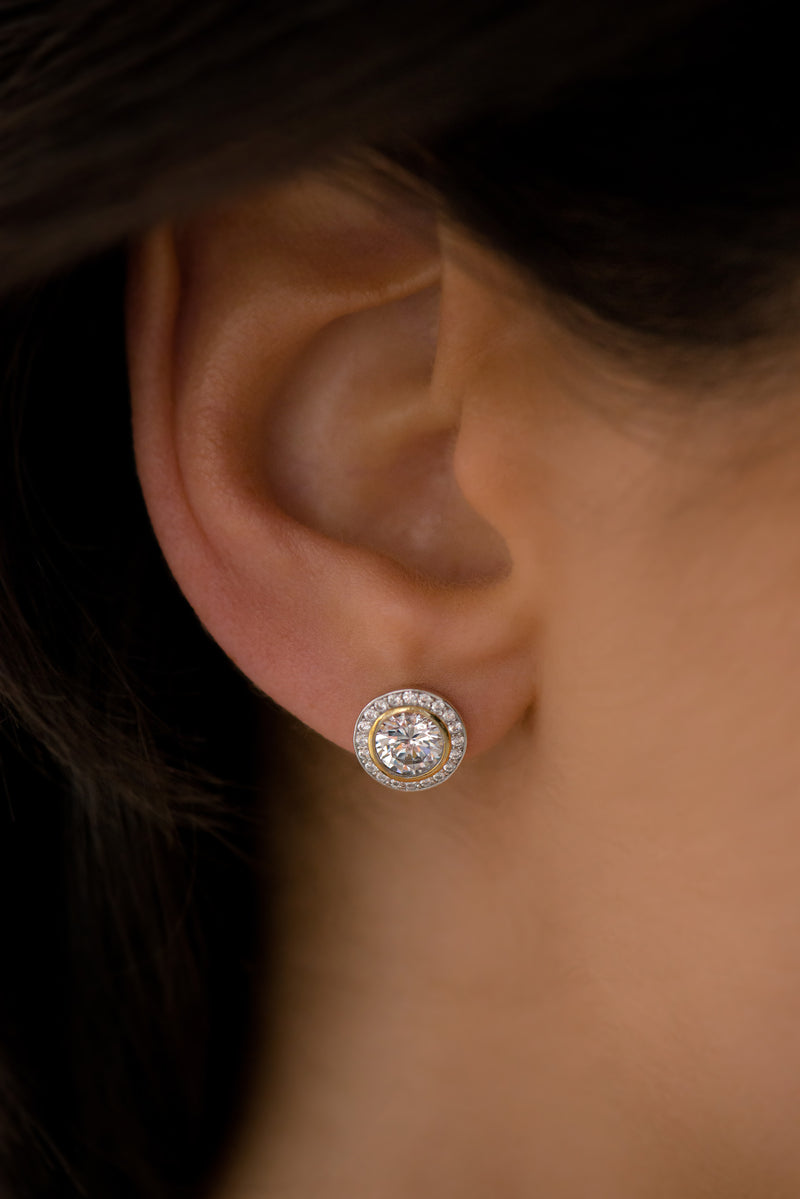 Marlo Rose Gold Stud Earrings