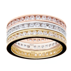 Eternity 3-Ring Set