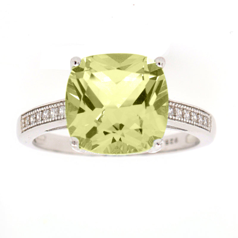 Skyla Yellow Cubic Zirconia Ring
