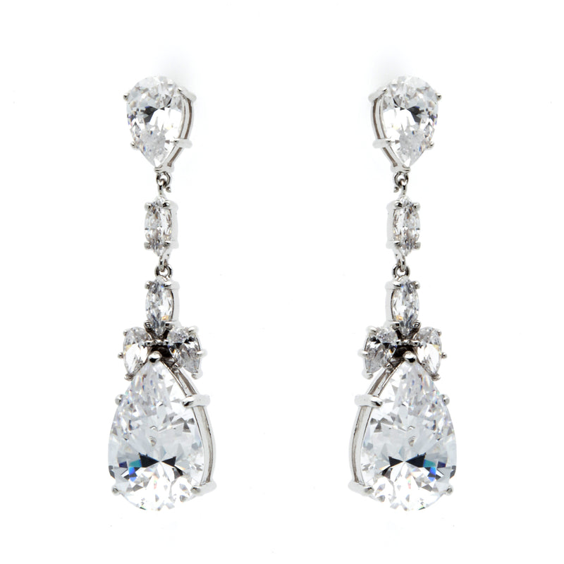 Portia Silver Earrings