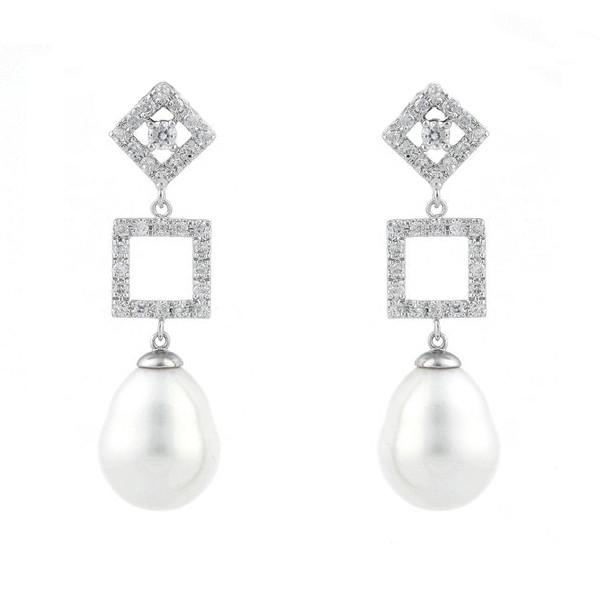 Jolie Pearl Drop Earrings