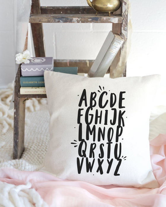 Alphabet Baby Cotton Canvas Pillow Cover - Innovatefy