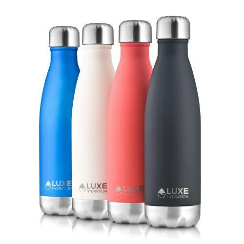 17oz Insulated Stainless Steel Water Bottle - Coral - Innovatefy