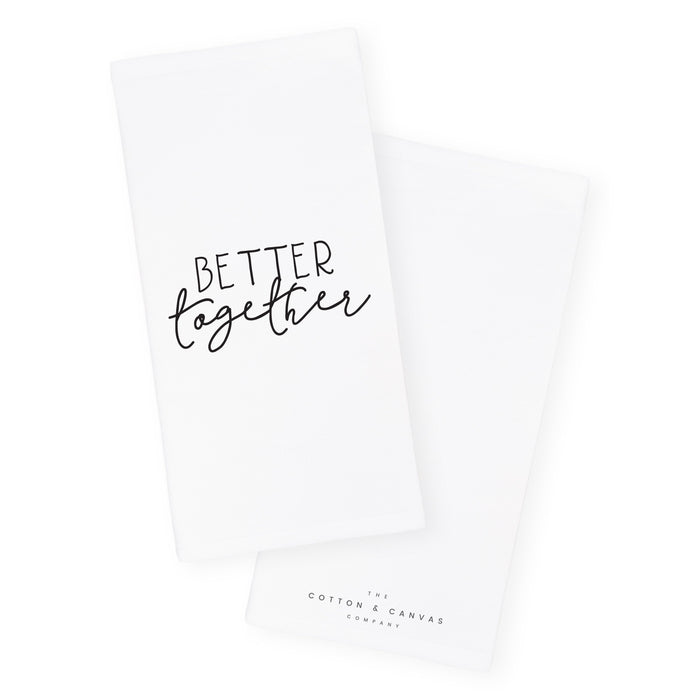 Better Together Cotton Canvas Kitchen Tea Towel - Innovatefy