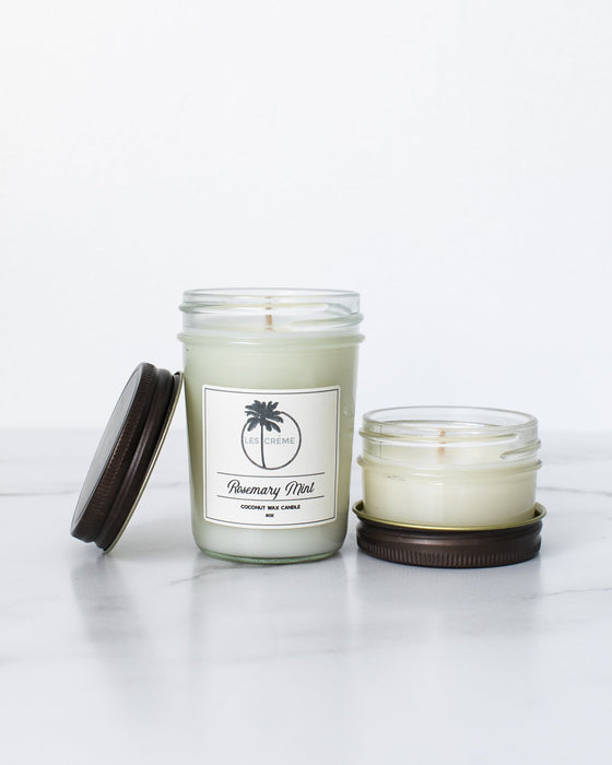 Rosemary Mint Scent Coconut Wax Candle - Innovatefy