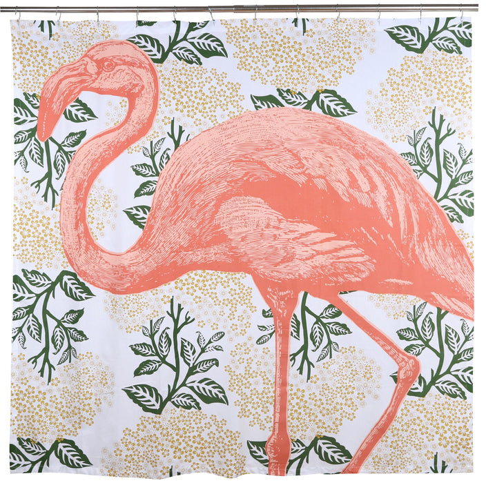 "Flamingo Shower Curtain 72""x72"" - Innovatefy"