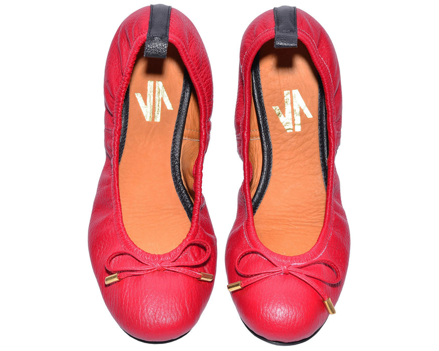 The Daily Ballerina Flats Red