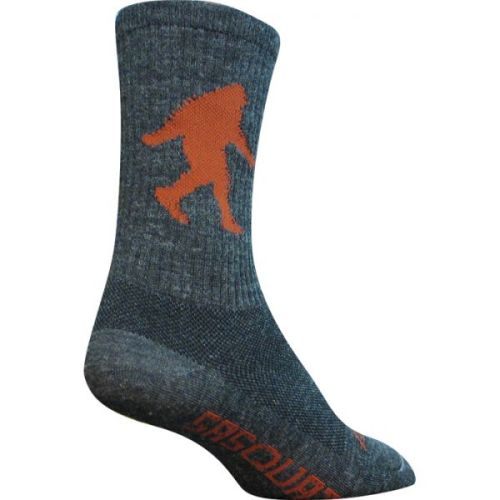 "Sasquatch 6"" Wool Crew Socks"
