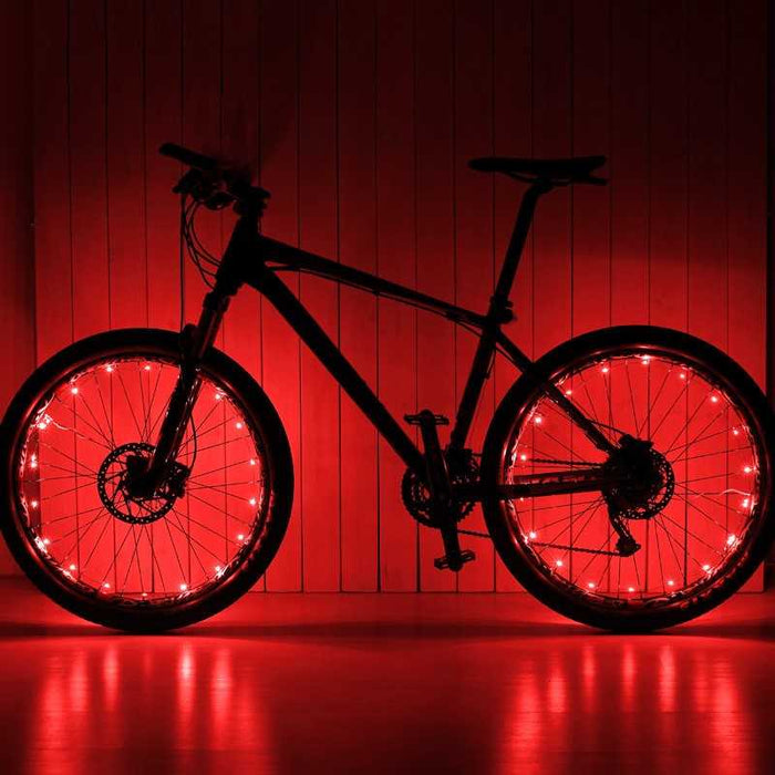 Wheel Lightz LED Red - Innovatefy