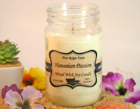 Hawaiian Passion - Wood Wick Candles - Innovatefy