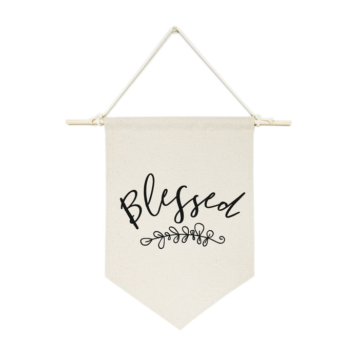 Blessed Hanging Wall Banner - Innovatefy