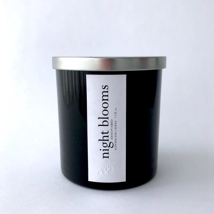 night blooms scented luxury soy candle - Innovatefy