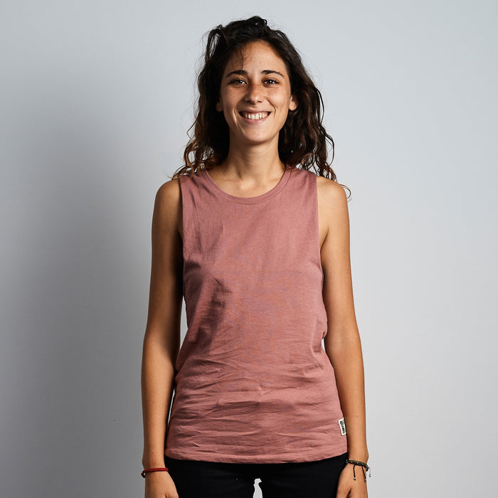Muscle Tank - Rose Gold