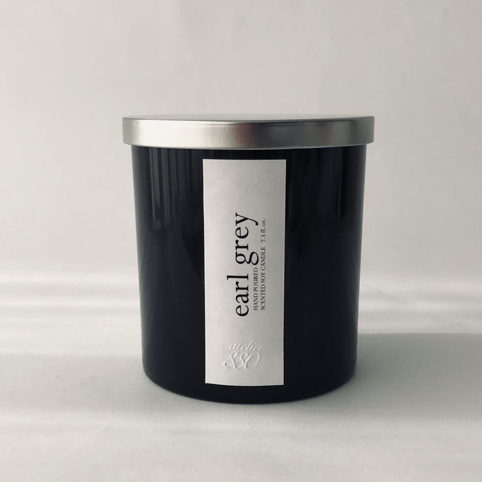 earl grey scented luxury soy candle - Innovatefy