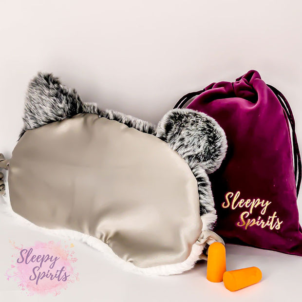 Husky Puppy Sleeping Mask - Sleepy Spirits