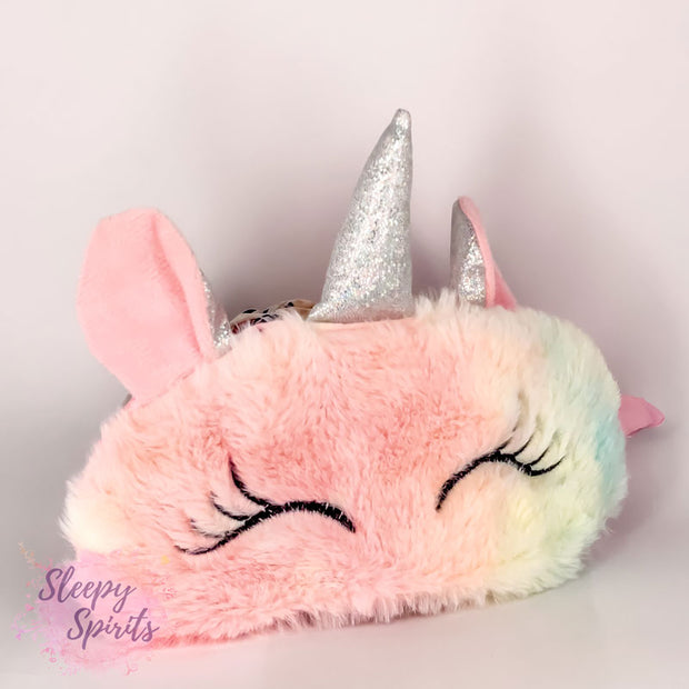 Pink Unicorn Sleeping Mask - Sleepy Spirits