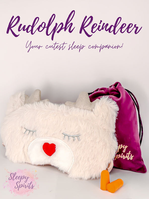 Rudolph Reindeer Sleeping Mask - Sleepy Spirits