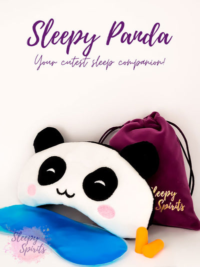 Sleepy Panda Sleeping Mask - Sleepy Spirits
