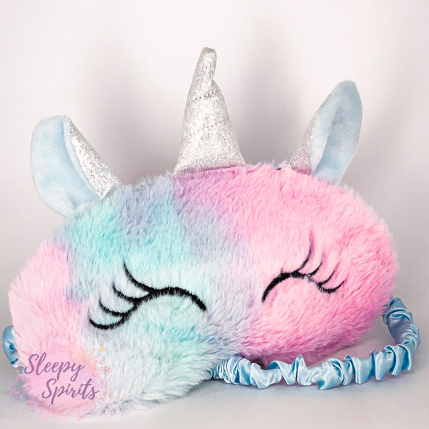 Turquoise Unicorn Sleeping Mask - Sleepy Spirits