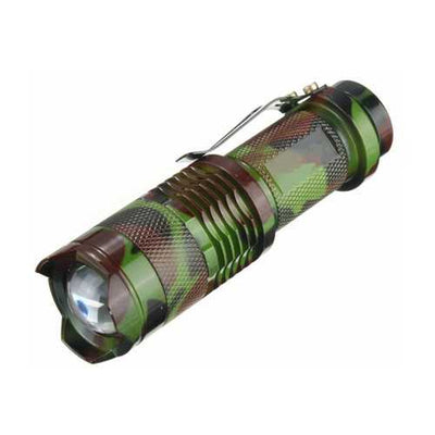 MECO Ultimate Backup Flashlight-Camo 2pk,