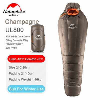 Naturehike Duck Down Mummy Sleeping Bag