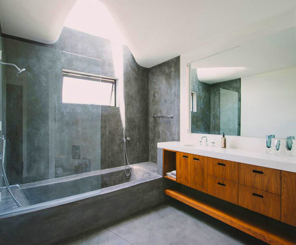concrete beautiful bathroom ideas