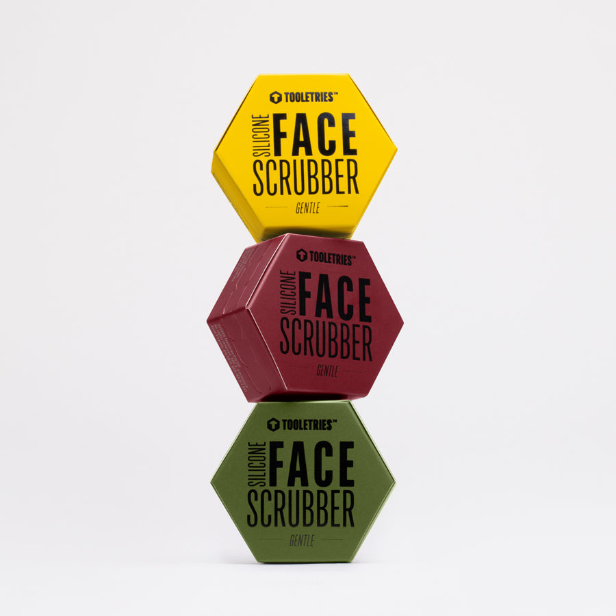 Face Scrubber Trio Set