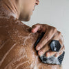 charcoal, face & body scrubber