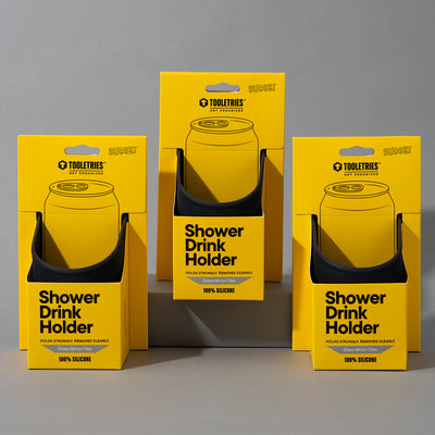 Shower Drink Holder 3 pack