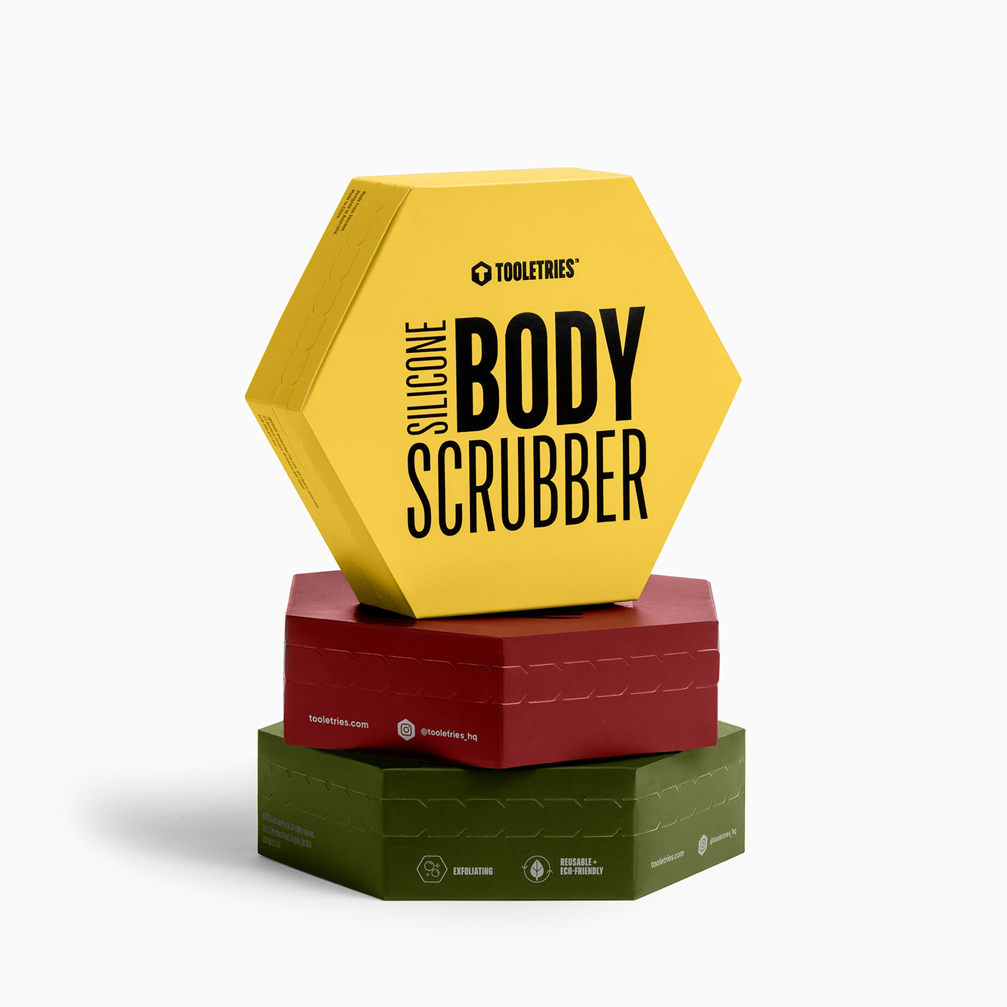 Body Scrubber Trio Set