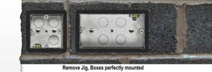 Electricians Socket Pattress Box Mounting Levelling Template Jig