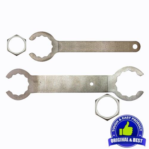 Conduit Lock Nut Spanner - Armoured Cable Lock Nut Wrench Set for Electricians