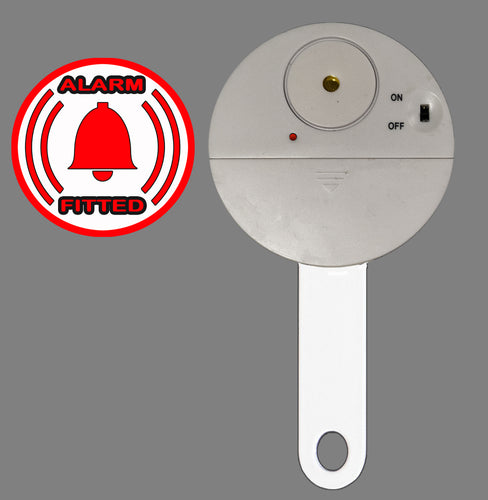 Alarm Peg for Tough & Easy 'box section or curved' patio door locks (Patent Pending)