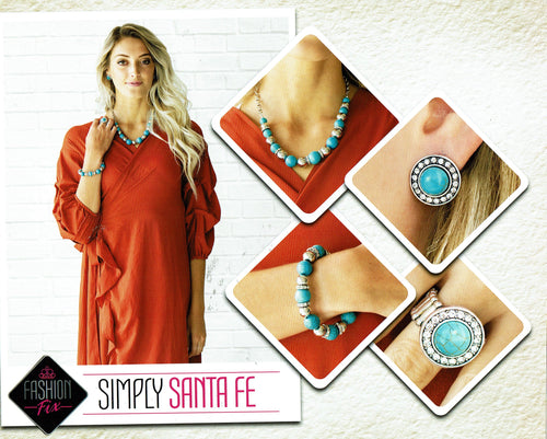 Paparazzi Fashion Fix - Simply Santa FE Set February 2019