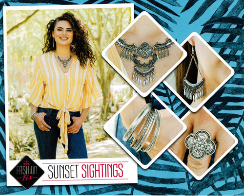 Paparazzi Fashion Fix - Sunset Sightings June 2019