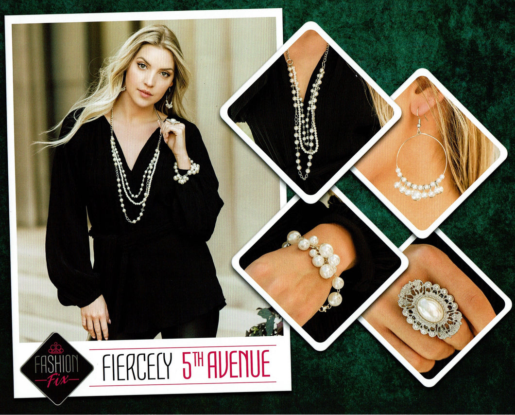 Paparazzi Fashion Fix - Fiercely 5th Avenue Set November 2019