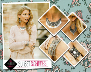 Paparazzi Fashion Fix - Sunset Sightings Set November 2019