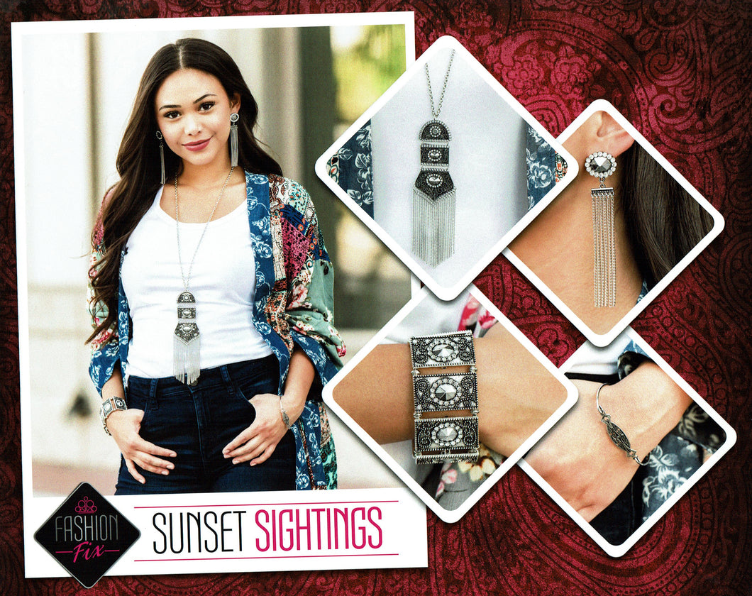 Paparazzi Fashion Fix - Sunset Sightings Set October 2019