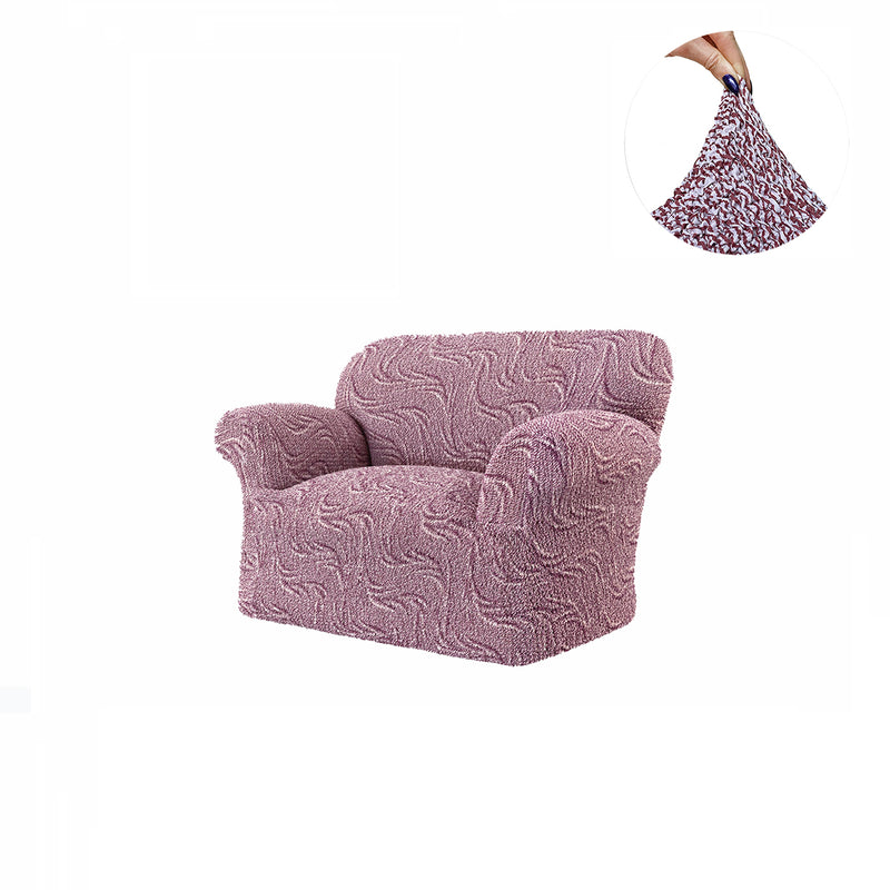 Arm Chair - Brilliante Universo Microfibra Printed - Menotti Sofa Covers