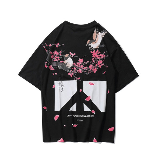 T-shirt Peace & Flower