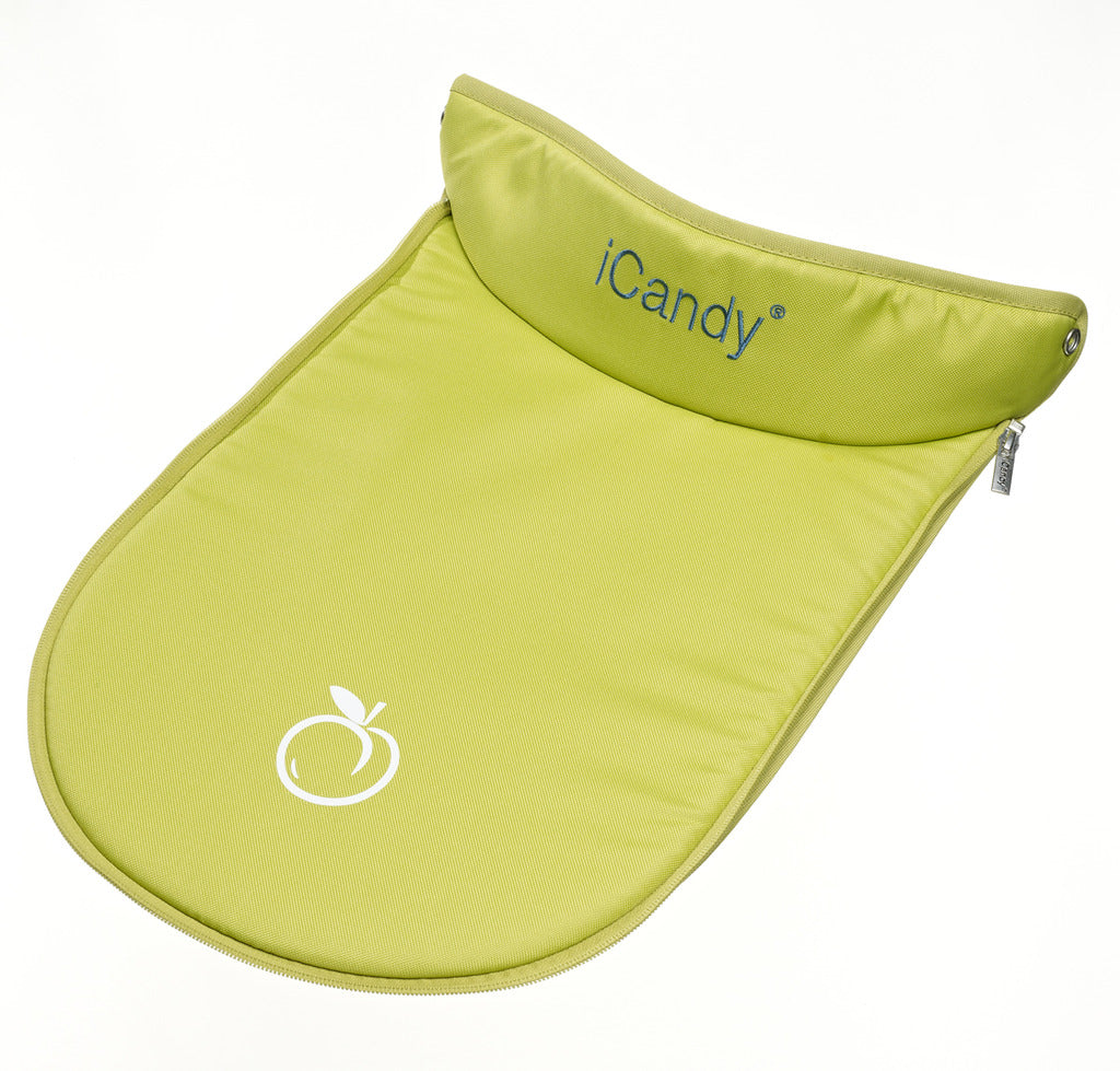 Peach Main Carrycot Apron
