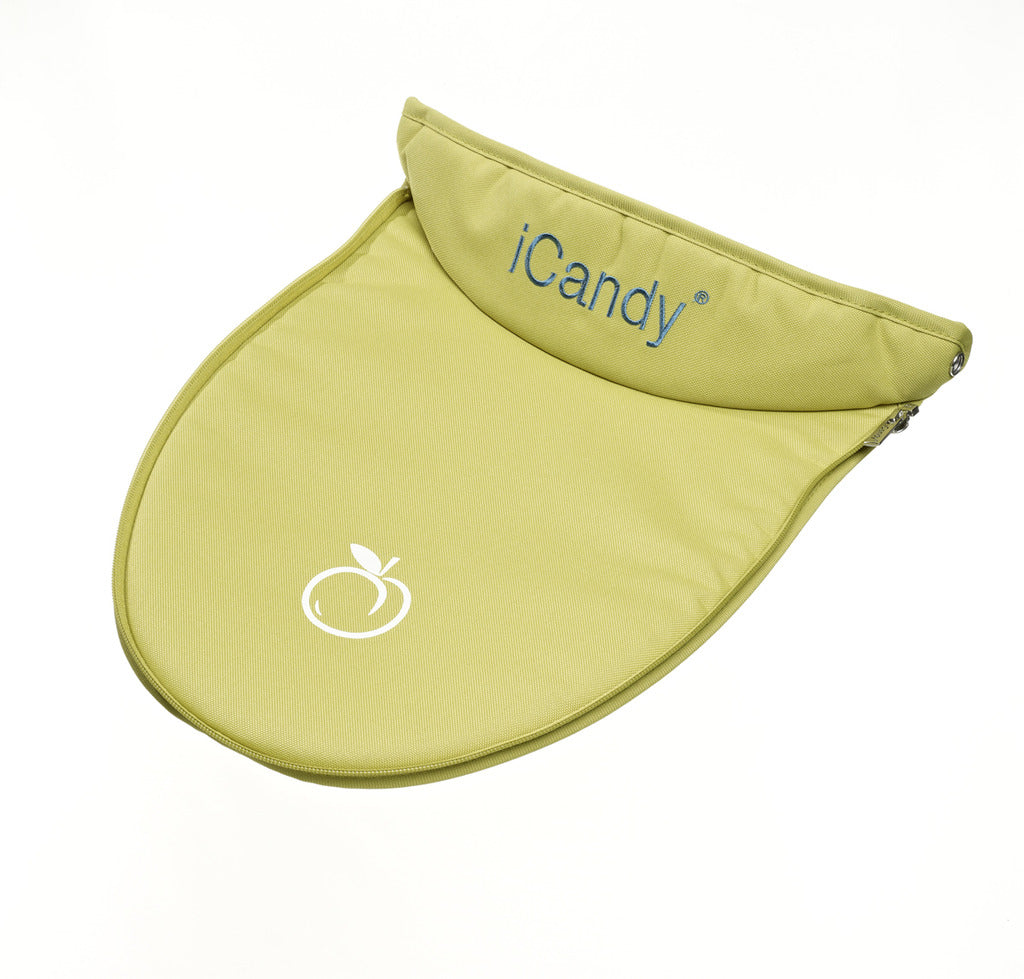 Peach Upper Carrycot Apron