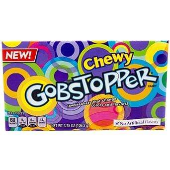 Sweet Packs Chewy Gobstopper Theatre Box 3.7oz (106g) ChewyGobstopperTB