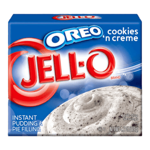 Sweet Packs Jell-O Instant Pudding - Oreo Cookies n Cream 4.2oz (119g) JellOInstantPudding