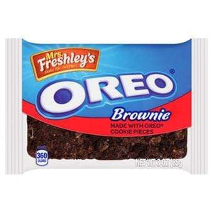 Sweet Packs Mrs Freshley's Oreo Brownie 3oz (85g) MrsFreshleyOreoBrownie