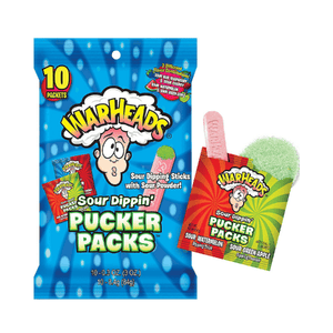 Sweet Packs Warheads Pucker Packs - 3oz (84g) WarheadsPuckerPacks